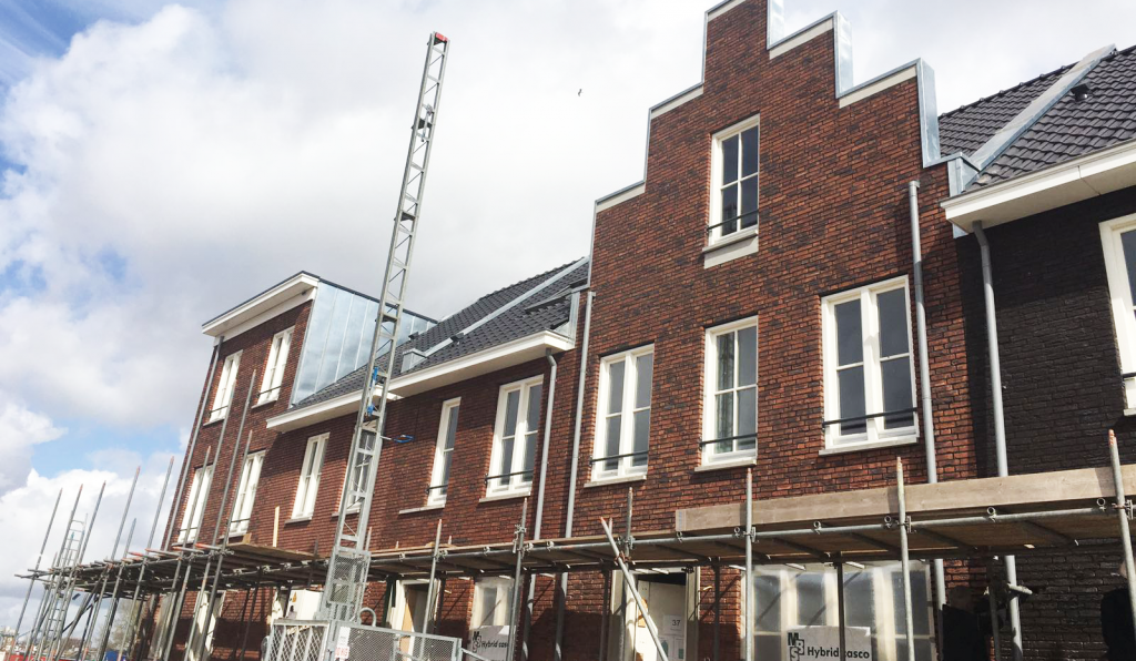 Blankestijn Nieuwbouw Bergen op Zoom dakbedekking geplaatst
